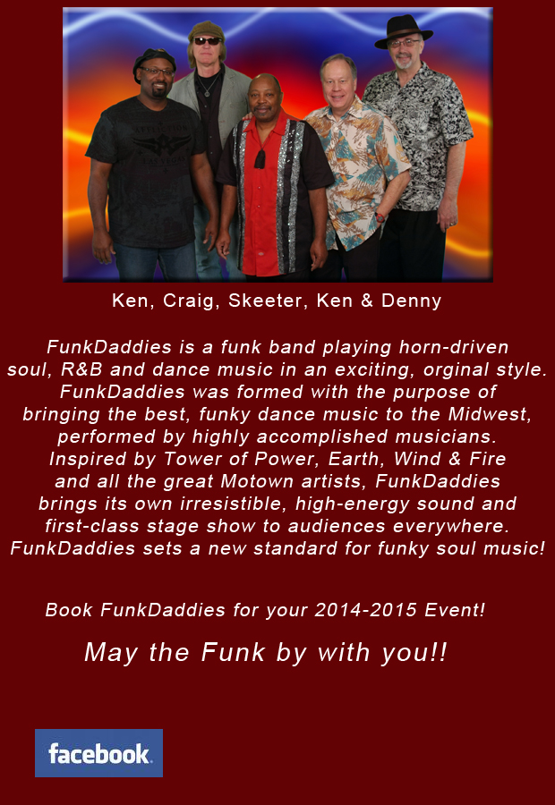 FunkDaddies, the Midwest's Hippest Band